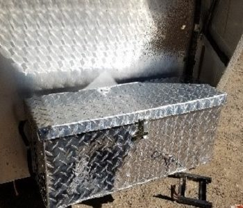 Custom Stainless steel trailer storage