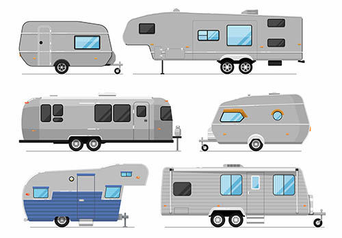 camper trailers, personal recreation